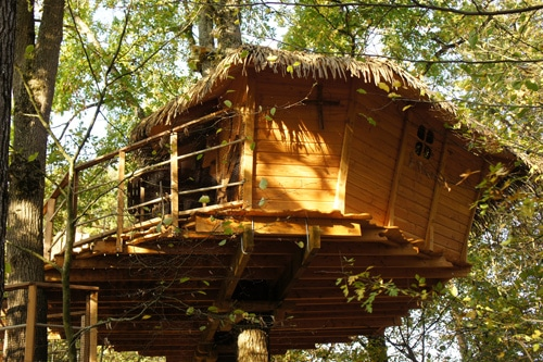 Cabane des écureuils (3 à 5 pers)