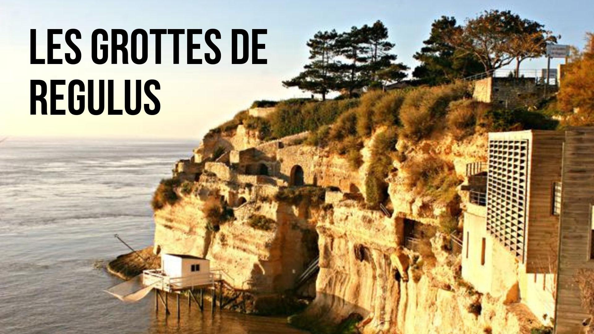Les grottes troglodytes de Meschers (à 20 min)