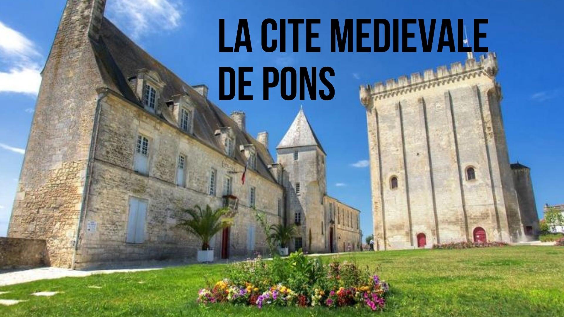 La cité médiévale de Pons (à 5min)