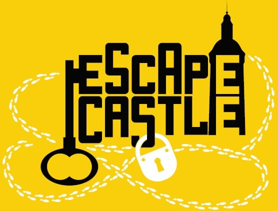 logo escape castle jaune